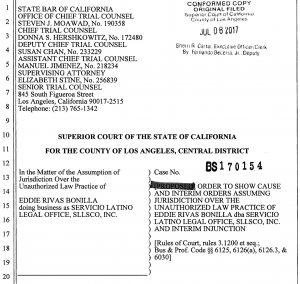 corte superior falso abogado