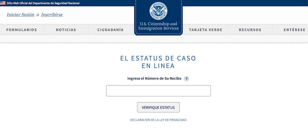 Asylum status online