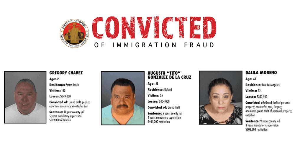 Chavez DeLaCruz Moreno convicted fraud