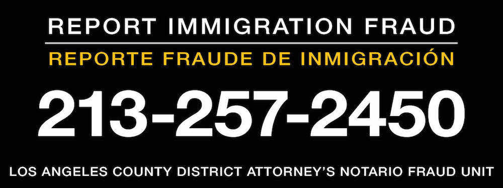 Report immigration fraud