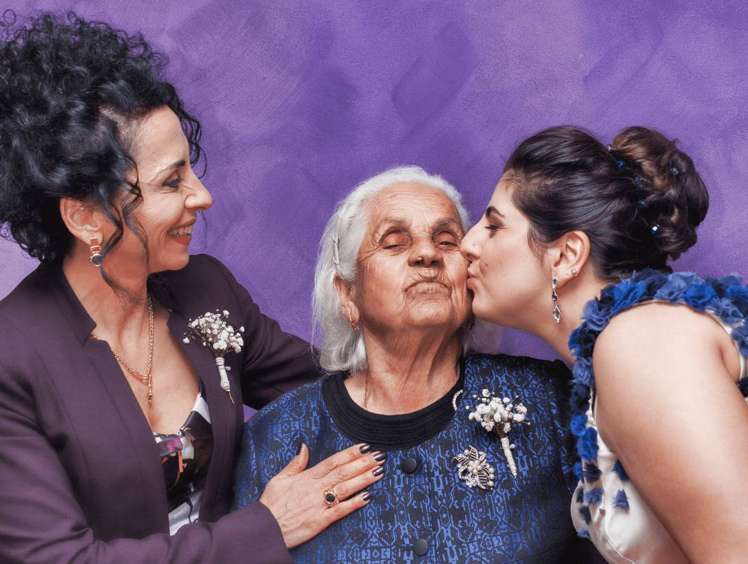 beso abuela
