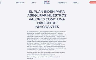 ¿Cuál es el plan migratorio de Biden?