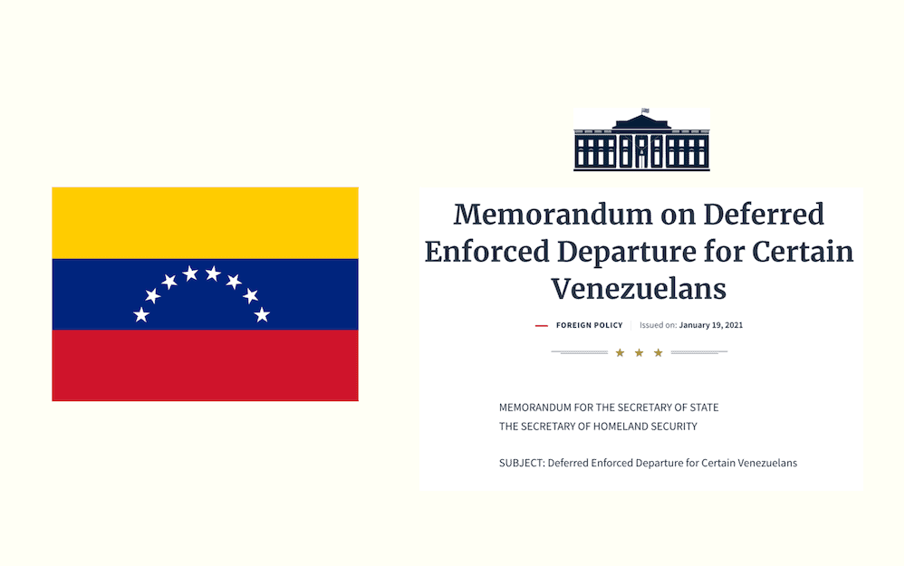 Salida Obligatoria Diferida (DED) para venezolanos